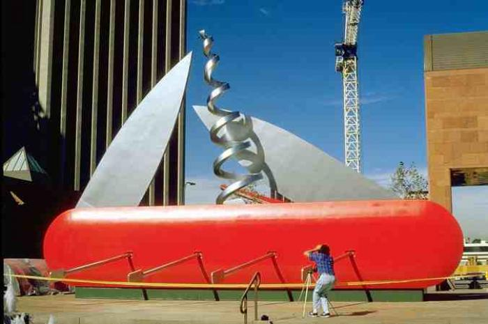 Claes Oldenburg: Large Papier Mache Sculpture | Modern Art 4 Kids