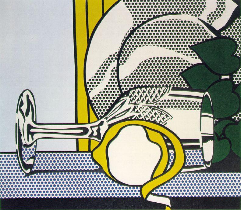 Art History Timelines: Roy Lichtenstein, Still Life With ...