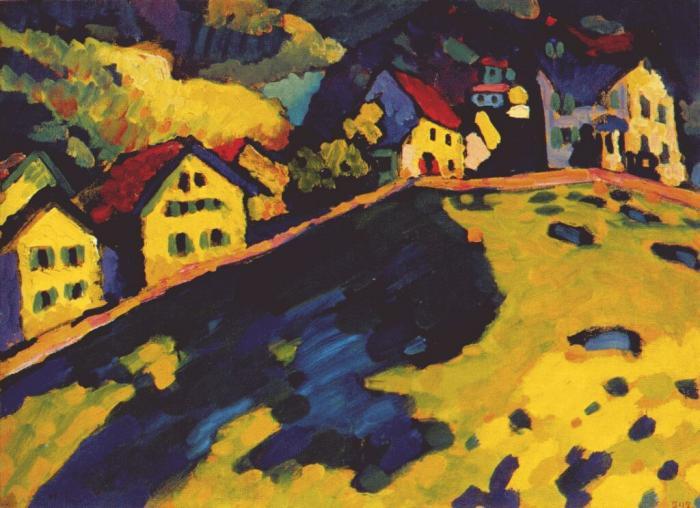 The Summer Landscape  1909 Kandinsky Landscapes