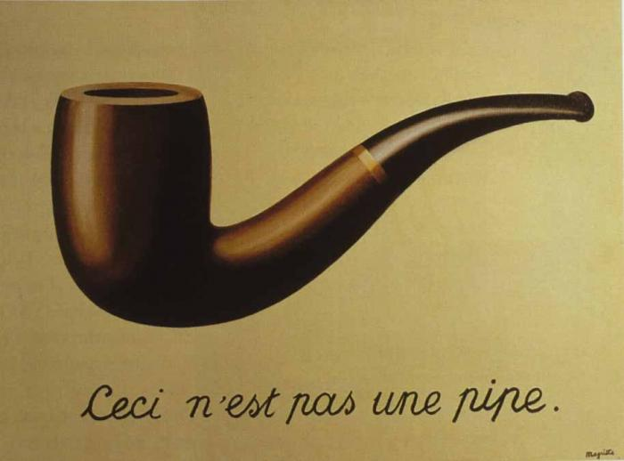 Rene Magritte The Treachery Of Images Art History Timelines:...