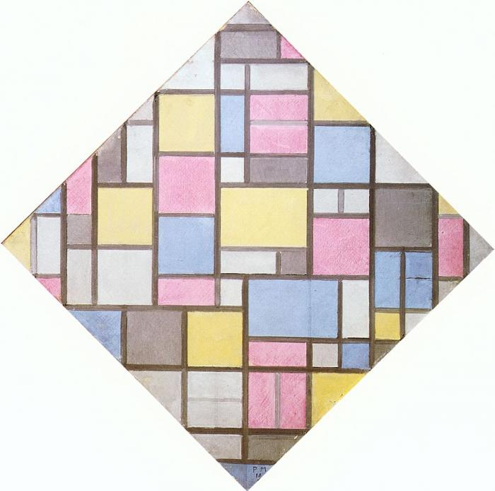 Art History Timelines View Artwork Piet Mondrian